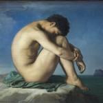 Flandrin,_Hippolyte_(1805-1864)_-_Jeune_homme_nu_assis.._1855_-_Louvre